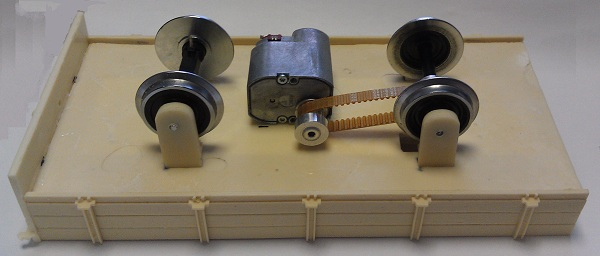 Inbouwen motor